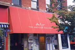 Northampton Commercial Awning - Fixed Frame